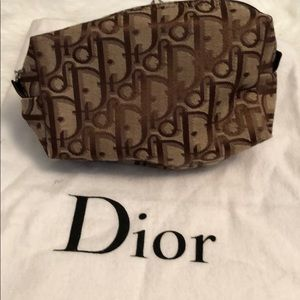 DIOR Cosmetic Pouch with DIOR Dust Bag